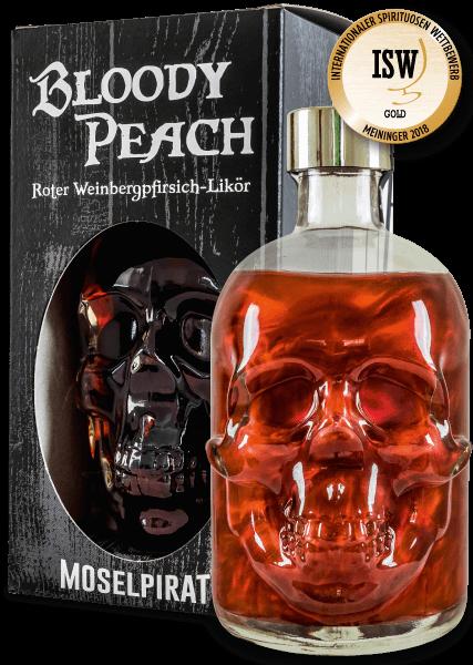 BLOODY PEACH - Roter Weinbergpfirsich-Likör